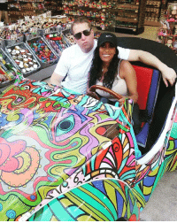 Memes, Cruise, and 🤖: 礹 2 weeks ago at this time me & @trulykenya were in Mexico. I grabbed this whip and we took it for a spin. Cruising with the top down inside a corner store. CarNeedsMoreColor SheLooksGood GetSome