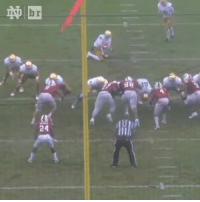 Weather was crazy between Notre Dame-NC State but how did this FG go in?!: 祌  24  Lg  il  b Weather was crazy between Notre Dame-NC State but how did this FG go in?!