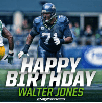 "The Seattle Seahawks legend turns 42 today. Wish the best left tackle to ever do it a Happy Birthday day, Seattle Seahawks on 247Sports fans!: 穵  BIRTHDAY  WALTER""JONES  247 SPORTS The Seattle Seahawks legend turns 42 today. Wish the best left tackle to ever do it a Happy Birthday day, Seattle Seahawks on 247Sports fans!"
