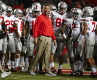 Ohio State football coach Urban Meyer gets career win No. 150. Legend: 織  pics Ohio State football coach Urban Meyer gets career win No. 150. Legend