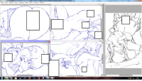 Dank, 🤖, and Libido: 豸 i have done drafting pretty much all the page  here is the preview for libido albedo  uncensored wip ver: pic.twitter.com/w2woPat0h8