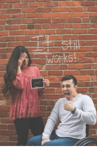Memes, Pregnancy, and World: 그 This pregnancy announcement is adorably fun (and hints at a little crude, ha!). How did you announce your pregnancy to the world?
