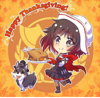 Mornafternoon everyone. ^^  Happy Thanksgiving! :D   And if you don't celebrate it, well good day to you as well I guess. :p  There are't exactly a plethora of Thanksgiving pictures out there so I guess just this one will have to make do unless I can find more. xD: 떠 Mornafternoon everyone. ^^  Happy Thanksgiving! :D   And if you don't celebrate it, well good day to you as well I guess. :p  There are't exactly a plethora of Thanksgiving pictures out there so I guess just this one will have to make do unless I can find more. xD
