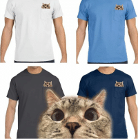 """New Peek a boo pocket Tshirt available at www.nalacat.com Use coupon code """"extra15"""" for 15% off❤: 새 New Peek a boo pocket Tshirt available at www.nalacat.com Use coupon code """"extra15"""" for 15% off❤"""
