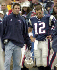14 years ago today, the Goat came in for Drew Bledsoe: 신 14 years ago today, the Goat came in for Drew Bledsoe