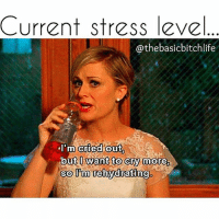 Thinking about Monday got me like😭😭-Repost from fellow Monday hater -@thebasicbitchlife @thebasicbitchlife -@thebasicbitchlife fabsquad munday: Current stress level  @the basicbitchlife  I'm cried out  but want to cry more,  so Pm rehydrating Thinking about Monday got me like😭😭-Repost from fellow Monday hater -@thebasicbitchlife @thebasicbitchlife -@thebasicbitchlife fabsquad munday