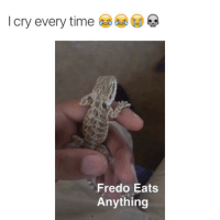 Bruh, Crying, and Fucking: I cry every time  Fredo Eats  Anything Fredo dont give a fuck bruh, straight murked that nigga