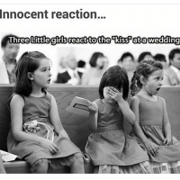 Imagine couple starts kissing at Indian weddings 😝-Half of womens there will be shocked 😂-Haay ye kya ho ra 😂😂-TAG them at whose wedding you wanna see this reaction 😝: Innocent reaction...  Th  Littlegirls react to the kiss atawedding Imagine couple starts kissing at Indian weddings 😝-Half of womens there will be shocked 😂-Haay ye kya ho ra 😂😂-TAG them at whose wedding you wanna see this reaction 😝