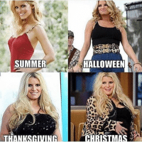 Bad, Christmas, and Funny: SUMMER  THANKSGIVING  HALLOWEEN  CHRISTMAS I wanna be at newlyweds Jessica so bad
