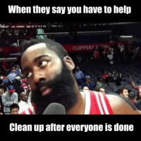 😂😂 nbamemes thanksgiving: When they say you have to help Clean up after everyone is done 😂😂 nbamemes thanksgiving