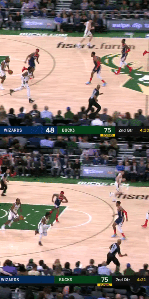🔥 Khris Middleton drops Troy Brown Jr!   He also dropped 38 PTS (7-8 3PT) in 3 quarters (26 MINS)!   https://t.co/asGNJhfYXy: 🔥 Khris Middleton drops Troy Brown Jr!   He also dropped 38 PTS (7-8 3PT) in 3 quarters (26 MINS)!   https://t.co/asGNJhfYXy