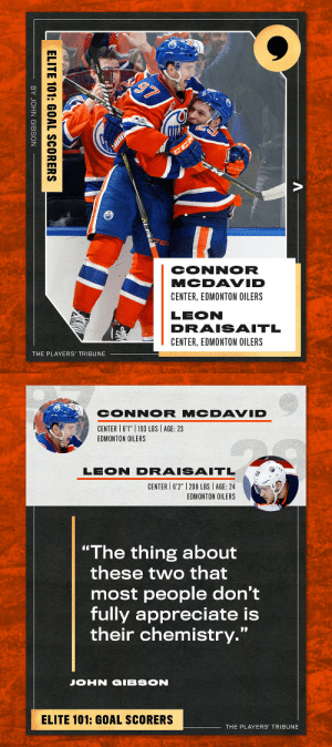 🏒 Leon Draisaitl & Connor McDavid 🏒  📝: https://t.co/rOoGzdO6nm  #LeonDraisaitl | @cmcdavid97 | @EdmontonOilers https://t.co/lLiGorUdTO: 🏒 Leon Draisaitl & Connor McDavid 🏒  📝: https://t.co/rOoGzdO6nm  #LeonDraisaitl | @cmcdavid97 | @EdmontonOilers https://t.co/lLiGorUdTO