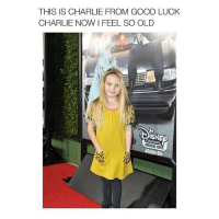 GASP.: THIS IS CHARLIE FROM GOOD LUCK  CHARLIE NOW FEEL SO OLD  CHANNEL  M GASP.