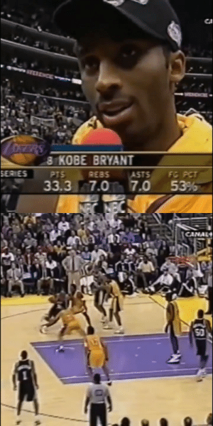 👀 These Shaq & Kobe highlights!   19 years ago today, the Lakers completed their 3rd straight sweep by giving the Spurs a 29-point beatdown (2 days after beating them by 39). They ended up with a 15-1 record in the 2001 playoffs. https://t.co/rlaRlJqFW9: 👀 These Shaq & Kobe highlights!   19 years ago today, the Lakers completed their 3rd straight sweep by giving the Spurs a 29-point beatdown (2 days after beating them by 39). They ended up with a 15-1 record in the 2001 playoffs. https://t.co/rlaRlJqFW9