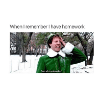 Homework, Girl Memes, and Nutcracker: When I remember I have homework  Son of a nutcracker! :oooOoooo