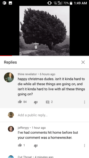 """The YouTube comment section is something: """"0• a