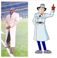 Inspector Gadget, Memes, and Nfl: 0 0 0  0 0 0 M Ray Lewis going for that inspector gadget look.   Like Us NFL Memes