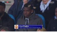 😂😂😂😂 https://t.co/Uw2aPYiSgh: 0-0 MU 01:46  main event  Paul Pogba  Called useless 6000 times by Graeme Souness 😂😂😂😂 https://t.co/Uw2aPYiSgh
