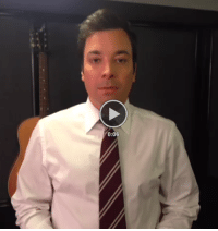 "Click, Jimmy Fallon, and Target: 0:06 <p>The Beginning - A new backstage Vine video from Jimmy Fallon</p> <p><strong>[<a href=""http://vine.co/v/b1maztKQguh"" target=""_blank"">click to play</a>]</strong></p>"