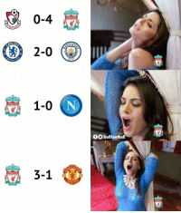 Memes, Liverpool F.C., and 🤖: 0-4  LIVERPOOL  HELSE  CHES  2-0 (  OTBALL  CITY  ER  1-0 |  LIVERPOOL  LIVER  TrollFootball  CHES  YOUE NEVERWALKALONE  3-1  LIVERPOOL  FOOTBA Last 8 days for Liverpool fans