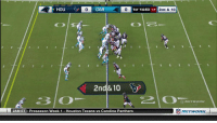 Carolina Panthers, Memes, and Houston Texans: 0  CAR  0  1ST 14:53 11  2ND & 10  2nd& 10  2AM ET Preseason Week 1 Houston Texans vs Carolina Panthers  竈NETWORK LUUUUUKKKEEEE!  #HOUvsCAR https://t.co/0ZrNptZb6i