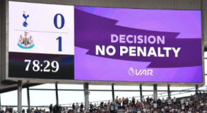 Pochettino: I love VAR  VAR: https://t.co/pVv248AhE7: 0  DECISION  1  NO PENALTY  78:29  VAR Pochettino: I love VAR  VAR: https://t.co/pVv248AhE7
