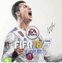 Fifa, Memes, and Sports: 0  EA  SPORTS  18  FIFA  OFFICIAL  LICENSED  PRODUCT  Li  eirate  tes  EFL  oFNE  eegue This FIFA 18 drawing. 👌 🎨 @theemptyhead.