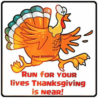 :p: 0  FRee Spirited  RUN foR YOUR  lives THaNksgiviNg  is NeaR! :p