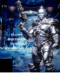 "Arnold Schwarzenegger, Batman, and Birthday: 0.  HAPPY  BIRTHDAY  ARNOLD  SCHWARZENEGGER  a HISTORYOFFHERNTMAN Good afternoon Gothamites and I hope you're all having a spectacular Sunday! Today (July 30), History of the Batman wants to wish actor and California Governor Arnold @Schwarzenegger a bat-tastic 70th birthday! For us Bat fans, Schwarzenegger portrayed Victor Fries aka Mr. Freeze opposite George Clooney's Batman in Joel Schumacher's 1997 live action film ""Batman & Robin""! When molecular biologist Victor Fries suffers from a tragic accident while trying to preserve his dying wife Nora Fries, his heart turns cold and becomes the villain Mr. Freeze who can only survive in sub zero temperatures and plans to save his beloved wife by threatening to turn Gotham City into a frozen tundra. Schwarzenegger's Freeze was based on Paul Dini and Bruce Timm's ""Batman: The Animated Series"" award winning episode 'Heart of Ice' and design from Doug Moench and Kelley Jones' story ""Frozen Assets"" in Batman (Vol 1) 525 from 1995. ""Batman & Robin"" paying homage to the 1960s TV series 'Batman' gave us the punny and chilling performance from Schwarzenegger, making his role perhaps the most memorable in Schumacher's universally panned movie. We thank Mr. Schwarzenegger for brining to life a now cherished sympathetic rogue from Batman's gallery. Happy birthday Arnold! Thanks for following and we'll have more History of the Batman soon! ✌🏼💙🦇🎉⛄️❄️"