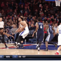 Sports, Cycling, and Marc Gasol: 0 MIN  1 36 1ST Jahlil Okafor puts Marc Gasol in the spin cycle!