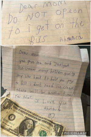 Money, Collage, and Mom: 0  OGe on Th  Mom  ice cren money butiam qui  a bill i dnt nees ict cream  For thoil  Ahman  67  527941 C  E60527941G  PIC COLLAGE  5 Small human being a bro!