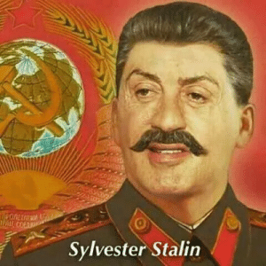 Stalin and Sylvester: 0  PAIE  Sylvester Stalin