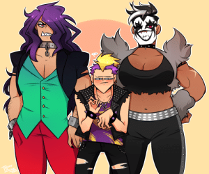 trashy-blaze:    Local Twink feels intimidated (and more) by his two Beef Cake Friends: 0.  RASHY trashy-blaze:    Local Twink feels intimidated (and more) by his two Beef Cake Friends