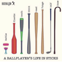 This is life 💯💯  credit: Baseballism: 0- Rattle  00000000 Plastic  Youth  BBCOR  Wood  Fungo  Golf  Cane This is life 💯💯  credit: Baseballism