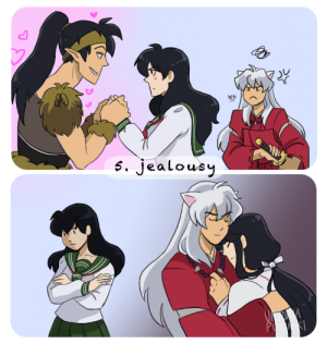 Target, Tumblr, and Blog: 0  s. Jealousy incaseyouart:  @inukag-week prompt 5: Jealousy.