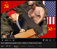 American, Best, and Porn: 00:00 / 11:44  RICH AMERICAN DADDY'S BOY TAKES IT FROM SOVIET MAN  Like  O About  くShare  Download  Add <p>I have the best porn. You know it, I know it, everybody knows it.</p>