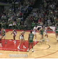 Throwback to when Larry Bird played an entire game left handed and scored 47 points https://t.co/8GdChvK55t: 00  BAHISTORY Throwback to when Larry Bird played an entire game left handed and scored 47 points https://t.co/8GdChvK55t