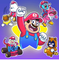 Memes, 🤖, and Supermario: 00  S  F It's a me, Mario! Which one is your fav? MAR10Day supermario nintendo