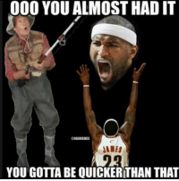 The Cavs almost landed DeMarcus Cousins. Full Details: bit.ly/DeMarcusCavs: 000 YOU ALMOST HAD IT  NBAMEMES  JAMES  YOU GOTTA BE QUICKERTHAN THAT The Cavs almost landed DeMarcus Cousins. Full Details: bit.ly/DeMarcusCavs