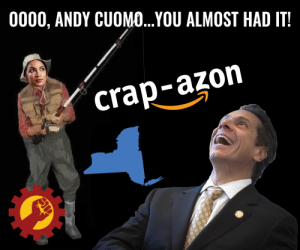 Swam away: 0000, ANDY CUOMO...YOU ALMOST HAD IT  crap-azon Swam away
