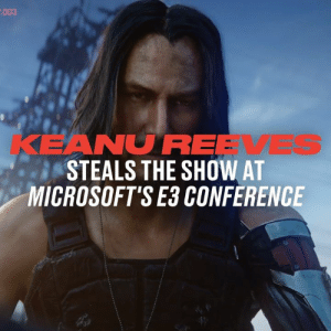 I think we can all agree that having Keanu Reeves show up at your conference is a great move 🎮👌: .003  KEANUREEVES  STEALS THE SHOW AT  MICROSOFT'S E3 CONFERENCE I think we can all agree that having Keanu Reeves show up at your conference is a great move 🎮👌