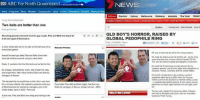 """surrogacy: 00IABC Far North Queensland  NEWS  another location  Home Progra  ams News Weather  Emergencies Spor1 Events Promotions Rechpes Photos &  Sydney  Melbourne  Brisbane  The West  Mdeo Photos  Two dads are better than one  By Ginger Gorman  a QLD BOY'S HORROR, RAISED BY  Becoming parents was hard work for gay couple, Pete and Mark but theyddo  GLOBAL PEDOPHILE RING  it all over again if they had to.  3,550 am  A shiny child's bike les on its side on the font lawn of an  Related Photos  immaculate garden.  HE was a child star but sor the wrong reasons  Around the back gay dads Pete and Mark chase their  He made his debut at Mit 22 months old not a toy  son's pet chickens around, to  catch them  trying or even a family tiendy PG sm.  store adventisement  This was for hardcore global pomographic syndication  Drake, 5.exclaims that the inte birds are too fast for him.  He would be flmed being sexually abused byhis  """"adoptive parerts' and at least eight other pedophiles  rs a happy, relaxed tamily scene. But it wasnt an easy  Australia, France, Germany and the Unted States.  road to get there. Aher many hurdes Drake was bom by  His horrific introduction the insideus world of  surrogacy in Russia  pedophia dated back to 2005 when his Russian  mother sold him for $8,000 to a member of Boy Lovers  We decided that we would have a child, that was time  sophisticated global network of men whose sexual  for us to have a famly We wanted to experience the joys Proud dads Pete let) Mark (ght had their  son  and preference are boys aged between six and egt years  fatherhood and we started our surrogacy over in the  Drake by surrogacy in Russia (onger Gorman-ABC)  United States back in 2002. Pete said  The boy was adopted by American Mark JNewton  RELATED LIN  who lived in Brisbane and Cams wth his Australian  At the time, Pete and Mark were Mng and workingin the  boyfriend, Peter Truong"""