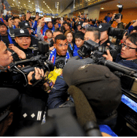Memes, China, and Carlos Tevez: 010A89 Carlos Tevez has been given a hero's welcome upon landing in China ahead of his move to Shanghai Shenhua. Tevez Shanghai China fans