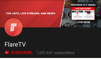 Live Sub Count: 018  WHOIS  PEWDIEPIE VS T-SERIES  LIVE SUB COUNT  TOP LISTS, LIVE STREAMS, AND NEWS  T-Series  PewDiePie  70,332,652 70,649,870  LIVE NOW  DEEP  HOUSE  FlareTV  SUBSCRIBE 1,051,631 subscribers