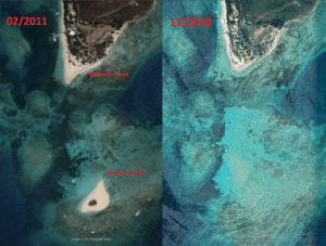 Beach, Image, and Pirates: 02/2011  Palbmino 19land  Filnios 1onatton  Image2019 DigitalGlobe  Image 2019 CNESTATbus  Image 2019 DigitalGlobe The filming location for Sola Fide Beach (final scene of Pirates of the Caribbean: On Stranger Tides) doesn't exist anymore.