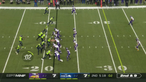 One of the craziest Pick-6s you'll ever see.  Anthony Harris to the 🏠 for 6️⃣! @HOOSDatDude #SKOL  📺: #MINvsSEA on ESPN 📱: NFL app // Yahoo Sports app Watch free on mobile: https://t.co/1EyFLelCig https://t.co/Ib0MTn9x5t: :02  7  7  ESF MNF  2ND 5:18 02  2nd & 9  8-3  9-2 One of the craziest Pick-6s you'll ever see.  Anthony Harris to the 🏠 for 6️⃣! @HOOSDatDude #SKOL  📺: #MINvsSEA on ESPN 📱: NFL app // Yahoo Sports app Watch free on mobile: https://t.co/1EyFLelCig https://t.co/Ib0MTn9x5t
