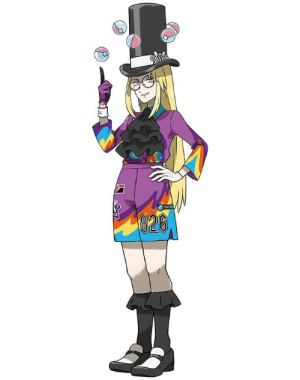 Avery from the Pokémon sword and shield dlc is just female speedwagon: 026 Avery from the Pokémon sword and shield dlc is just female speedwagon