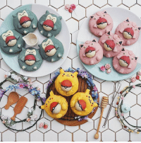 Although these are very cute, we still gotta eat 'em all! 🍰 (📸: @annachaannn) pokemon foodies snorlax jigglypuff pikachu lootcrate: 03-  う Although these are very cute, we still gotta eat 'em all! 🍰 (📸: @annachaannn) pokemon foodies snorlax jigglypuff pikachu lootcrate