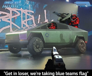 "This is what it was made for: 040x  ""Get in loser, we're taking blue teams flag"" This is what it was made for"