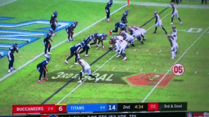 This pretty much sums up the Tampa Bay Bucs https://t.co/aZa4DdSXJR: 05  3RD& GAL  3rd &Goal  3-4 14  05  2nd  4:34  TITANS  BUCCANEERS 2-4 6  NFL  7 00 DTS (62 vns Tn This pretty much sums up the Tampa Bay Bucs https://t.co/aZa4DdSXJR